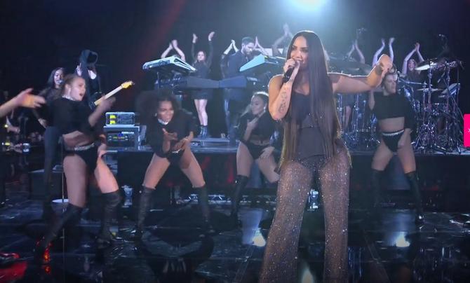 Demi Lovato na sceni
