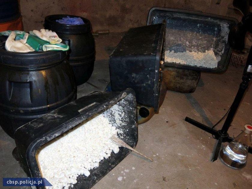 Materiały zatrzymane przez policję