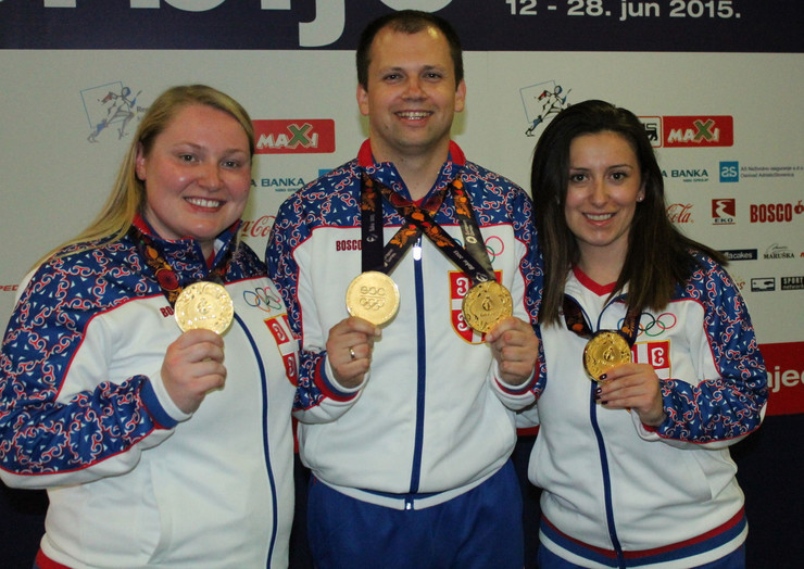 Zorana Arunović, Damir Mikec, Andrea Arsović