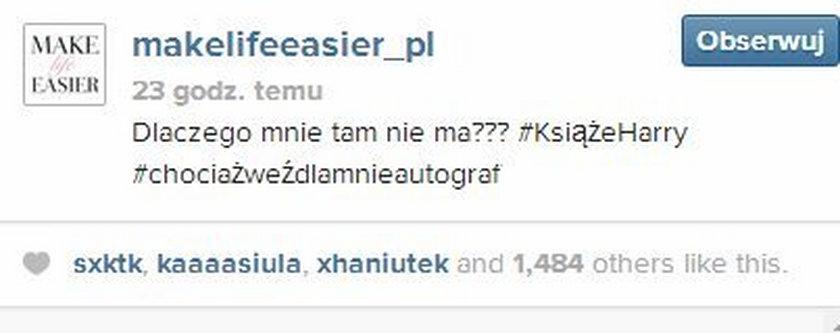 Zdjęcie Kasi Tusk na Instagramie
