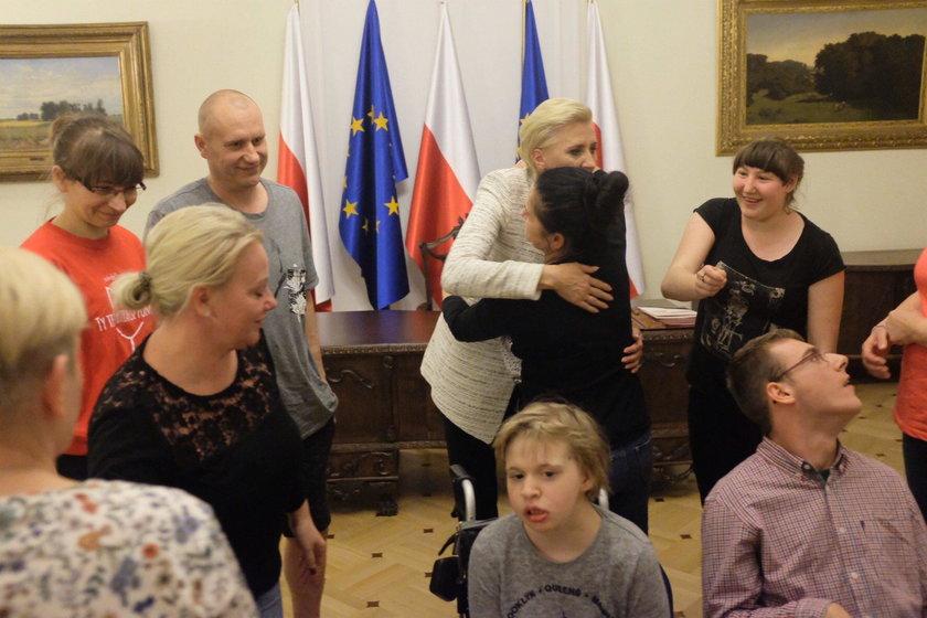 Agata Kornhauser-Duda spotkała się z niepełnosprawnymi