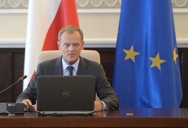 Donald Tusk PAP/Radek Pietruszka