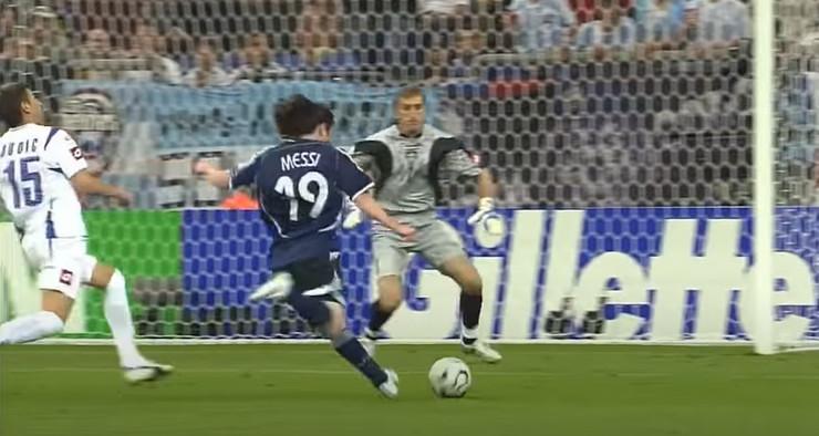 Mesi protiv SCG na Svetskom prvenstvu 2006