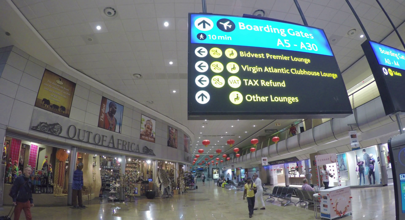 Johannesburg International Airport (Video Blocks)