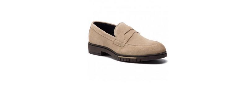 Buty - Tommy Hilfiger Flexible Dressy Suede Loafer