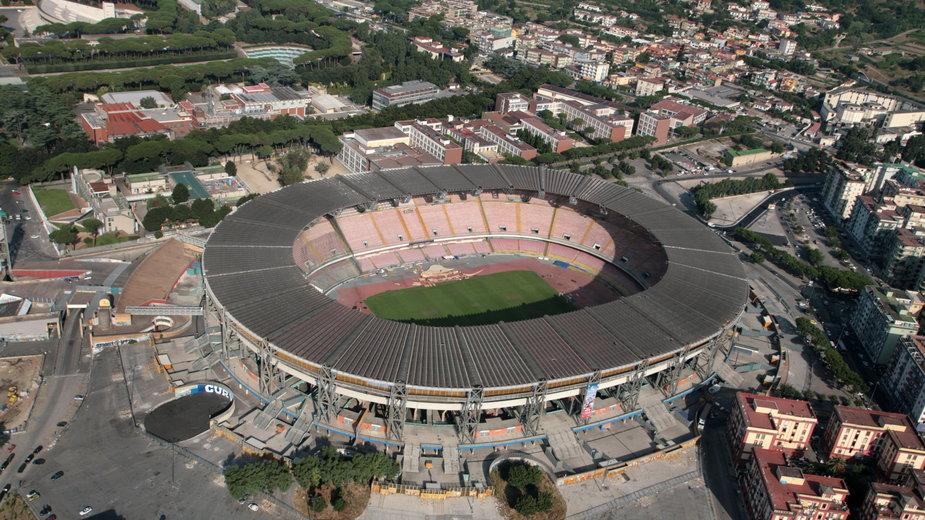Stadion San Paolo, Neapol, Włochy