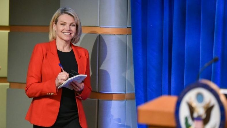Heather Nauert became the spokeswoman of the State Department with no prior foreign policy experience