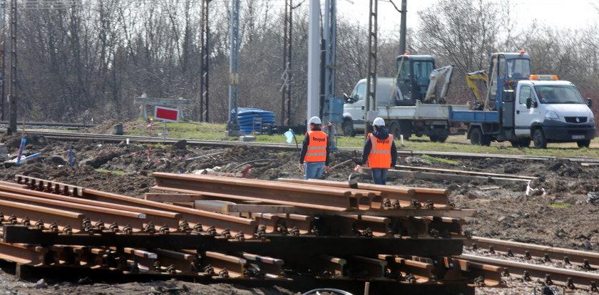 Remont przejazdu kolejowego na Wróblewskiego w Łodzi. Objazdy