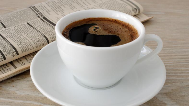 Kawa i gazeta