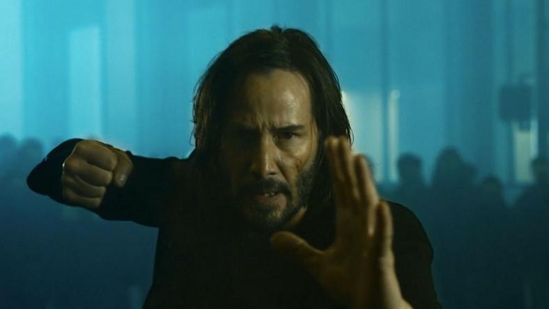 """Keanu Reeves w filmie """"Matrix: Zmartwychwstania"""""""