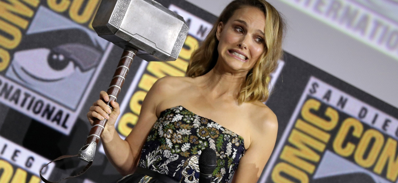 Thor - Natalie Portman fot. Rex Features/East News
