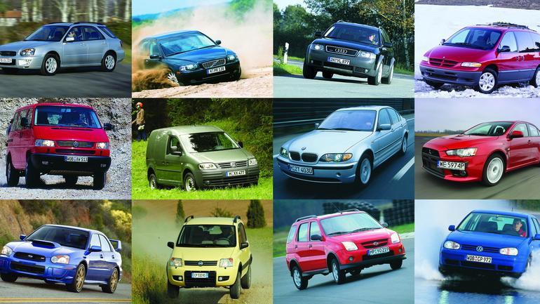 Przegląd aut osobowych z napędem 4x4