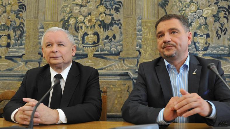 Kaczyński chce współpracować z Dudą