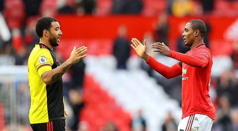 Watford captain Troy Deeney tells the story of how he almost fought Odion Ighalo after the Nigerian striker refused to pass to him at Old Trafford