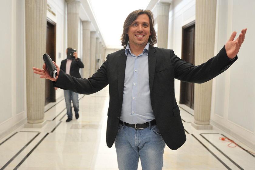 Tomasz Kaczmarek - agent Tomek, były posełPiS