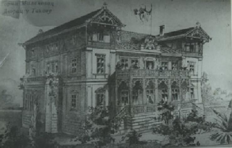 Obrenovići, dvor, Takovo