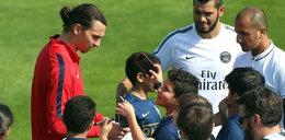 Zlatan totalnie zaskoczył kibica, który chciał z nim zrobić selfie! WIDEO