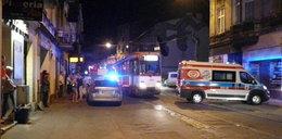 Rozpylili gaz w tramwaju. Jedna osoba ranna