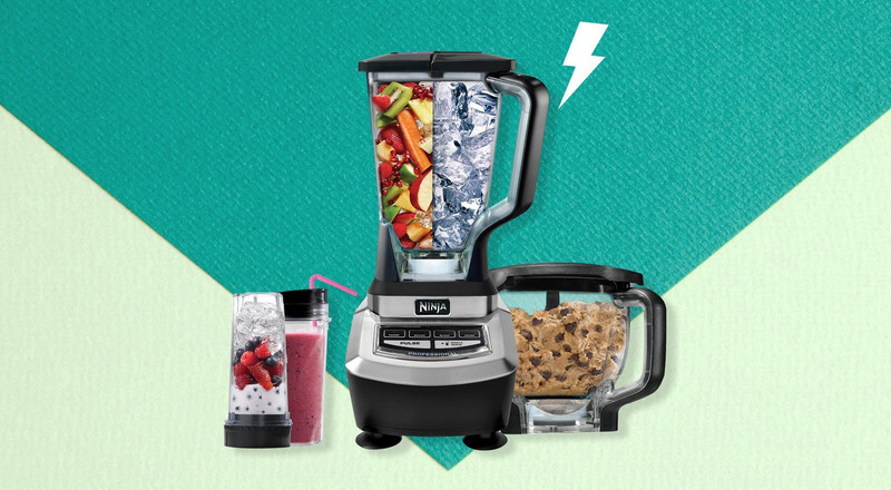 Ninja's Supra Kitchen Blender System With Food Processor Is $70 Off In Walmart Sale Today