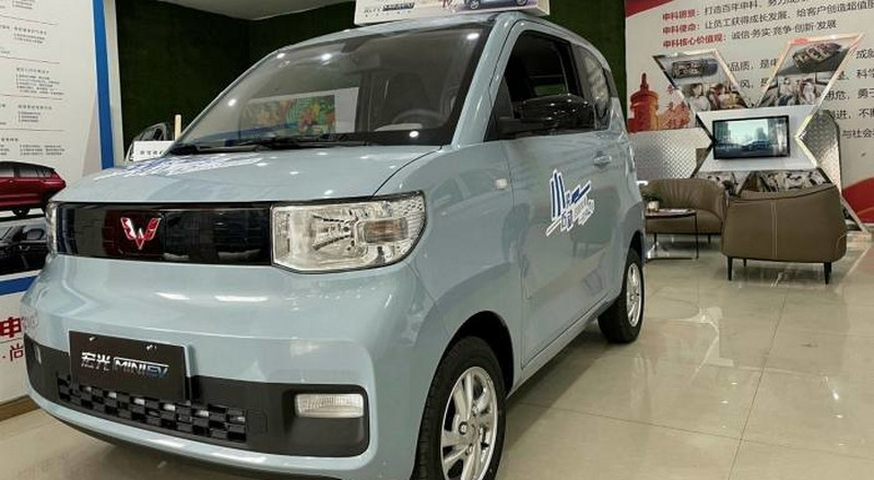 GH26,000 Chinese electric car outselling Tesla