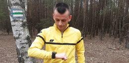 Dziennikarz Faktu trenował z sędzią ekstraklasy: Znalazł górkę w lesie i daje sobie w kość!