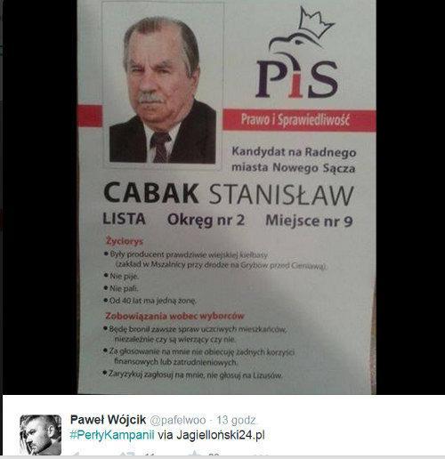 Najgorsze Plakaty Wyborcze Obciachowe Plakaty Wyborcze