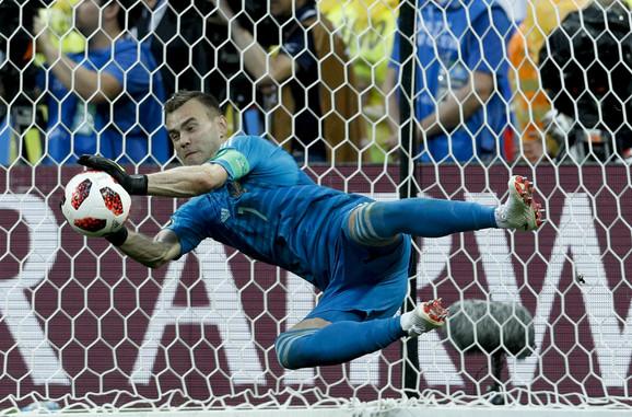 Igor Akinfejev, junak ruskog trijumfa protiv Španije