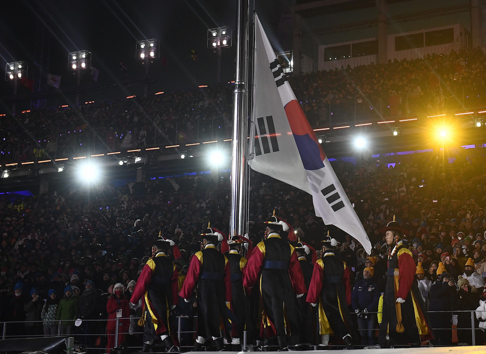 epa06508182 - SOUTH KOREA PYEONGCHANG 2018 OLYMPIC GAMES (Opening Ceremony - PyeongChang 2018 Olympic Games)