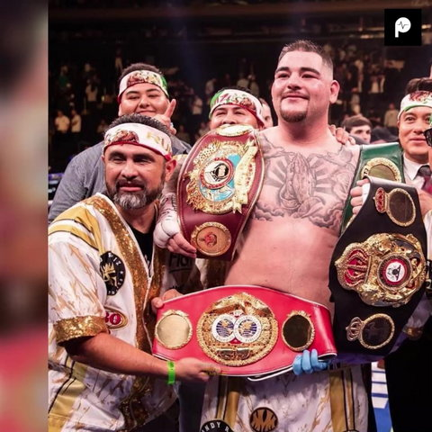 Andy Ruiz Jr says he wants to fight in America although promoter Eddie Hearn says the boxer has signed an agreement to Saudi Arabia