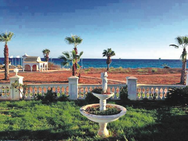 Pogled: Kuća se nalazi na samoj obali mora