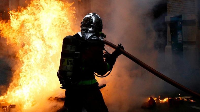 Francuski strażak