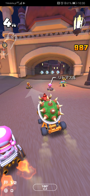 Mario Kart Tour - screenshot z gry (Android)