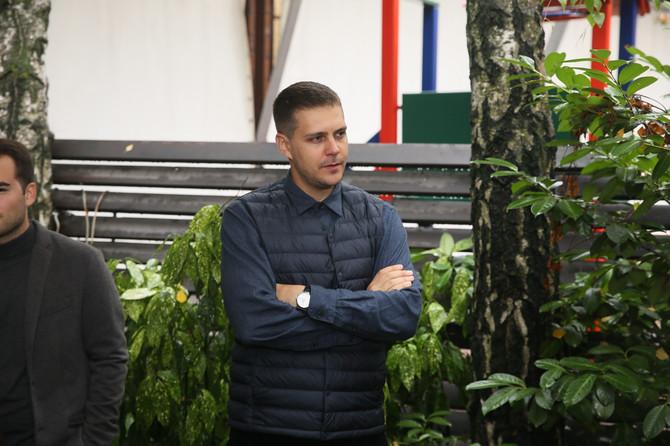Miloš Biković danas u Beogradu