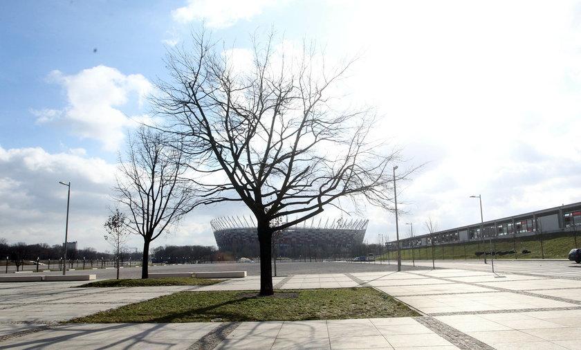 Okolice Stadionu Narodowego w Warszawie
