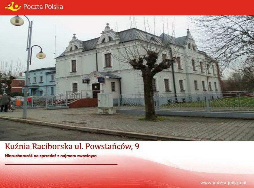 Budynek Poczty Polskiej w Kuźni Raciborskiej