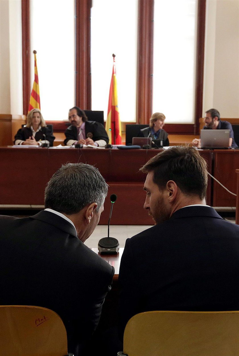 Messi przed sądem. Zobacz