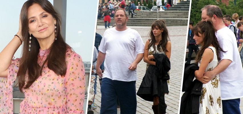 """Kinga Rusin wspomina plotki o romansie Rosati z Weinsteinem. """"Rosati udaje ofiarę i dąży do konfrontacji"""""""