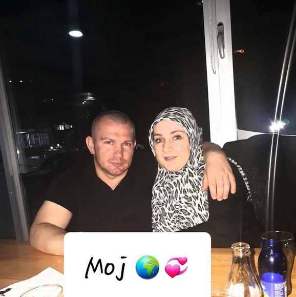 Azra Hajrić i sa mužem Mirnesom