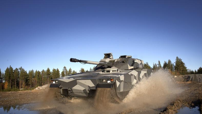 Nowy czołg będzie prawdopodobnie wzorowany na najnowszej odmianie ciężkiego transportera CV90 Armadillo