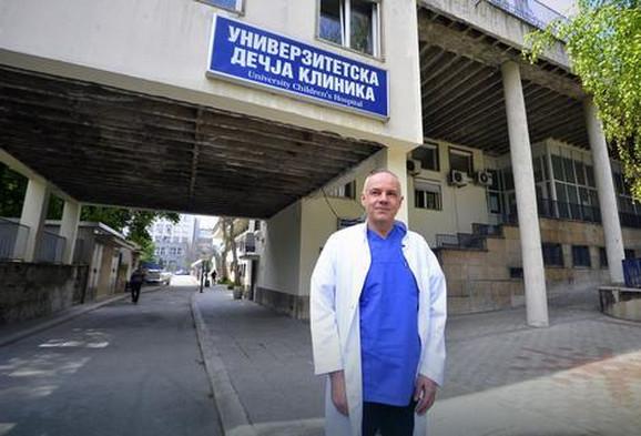 Prate svetske standarde: Dr Zoran Radojičić, direktor Univerzitetske dečje klinike