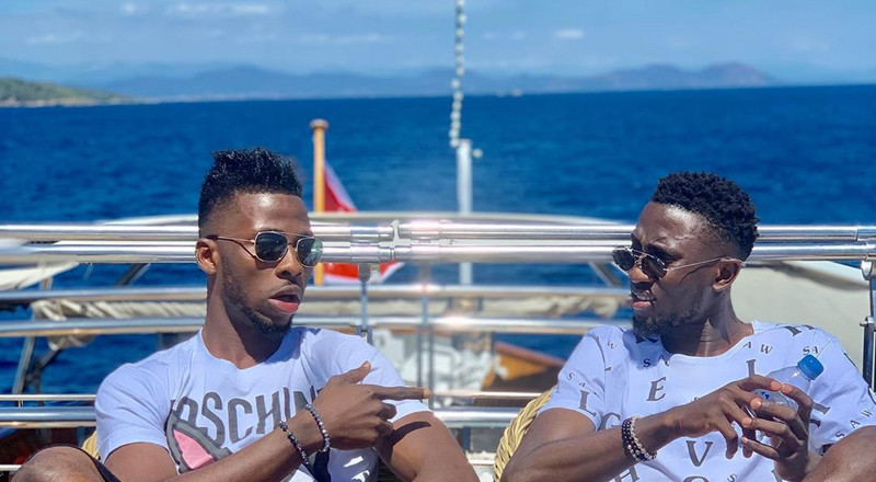Super Eagles stars Kelechi Iheanacho and Wilfred Ndidi vacation together in Saint-Tropez
