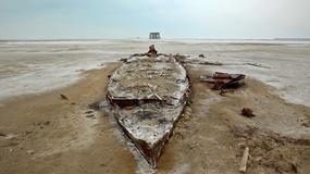 Jezioro Oroumieh (Urmia) w Iranie wysycha jak Morze Aralskie