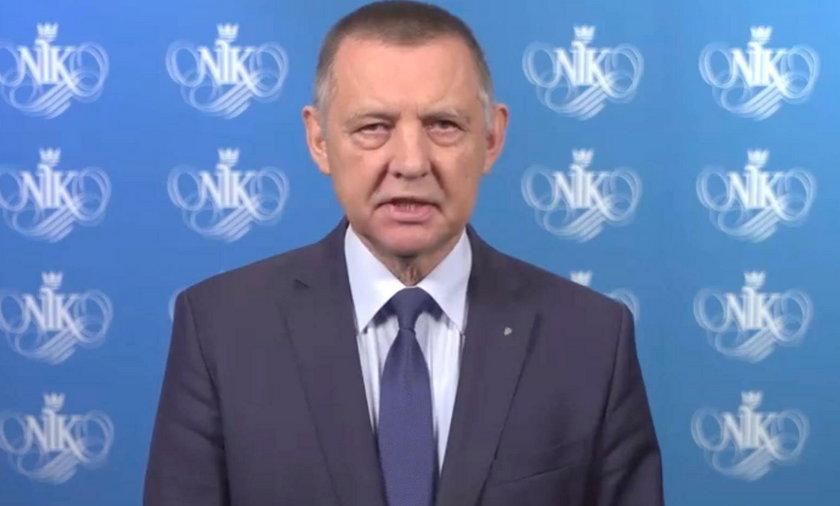 Marian Banaś i jego oświadczenie w NIK