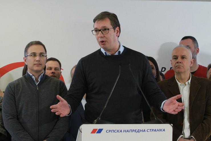Aleksadndar Vučić, Beogradski izbori