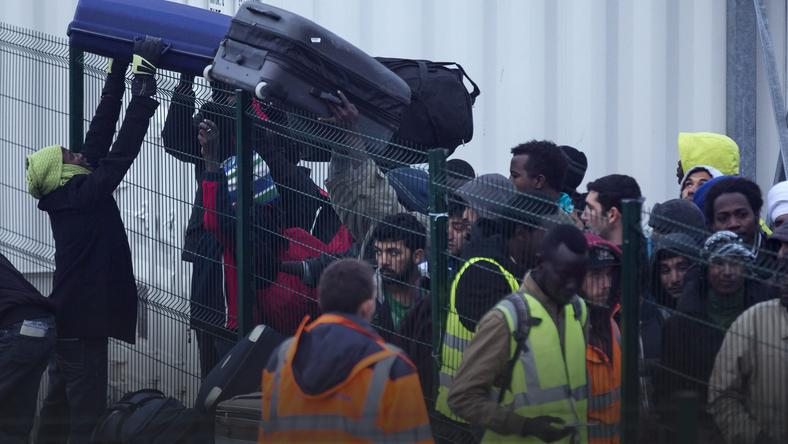 FRANCE CALAIS MIGRANTS JUNGLE (Evacuation of the Jungle in Calais)