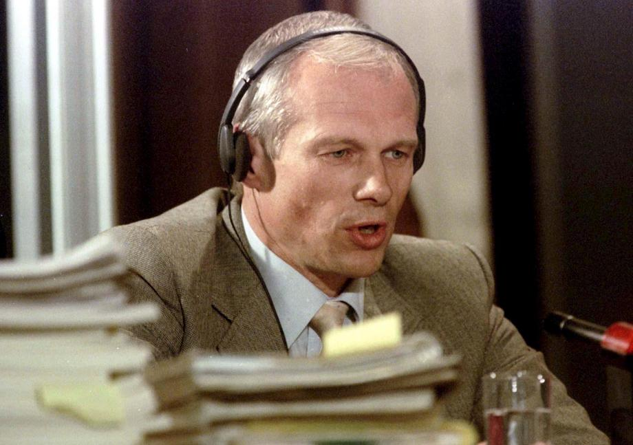 File photo of Janusz Walus testifying at the Truth and Reconciliation Commission hearing at Pretoria