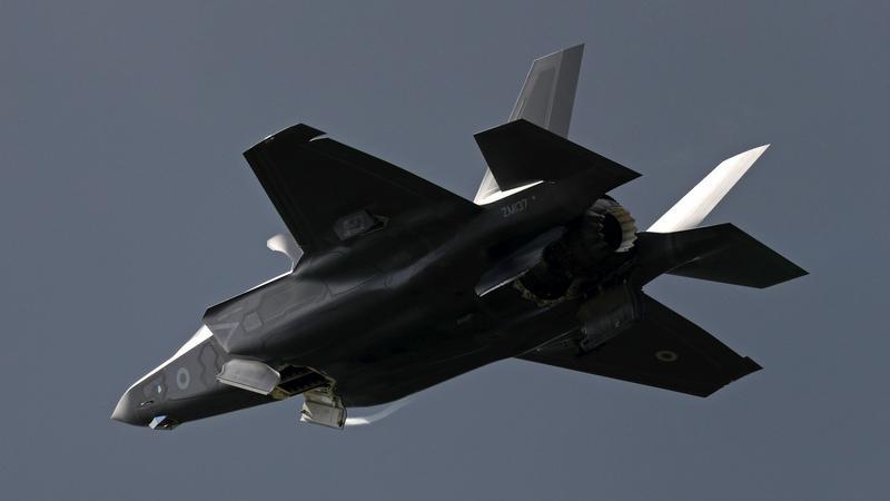 Amerykańskie supermyśliwce F-35B w Japonii