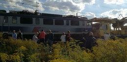 Czołowe zderzenie pociągów pod Poznaniem