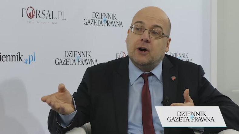 Piotr Walczak, nadinspektor Służby Celno-Skarbowej, zastępca szefa Krajowej Administracji Skarbowej