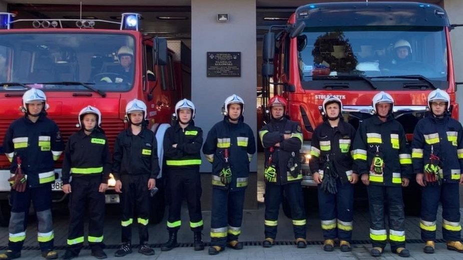 Strażacy z Wierzchowa zbierają na profesjonalne hełmy [VIDEO]